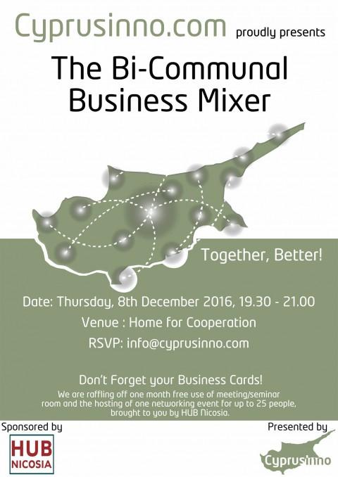 Bi-Communal Business Mixer (Presented by Cyprusinno.com)