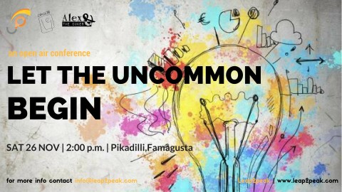 Let The Uncommon Begin: An Open Air Conference (Leap2Peak)