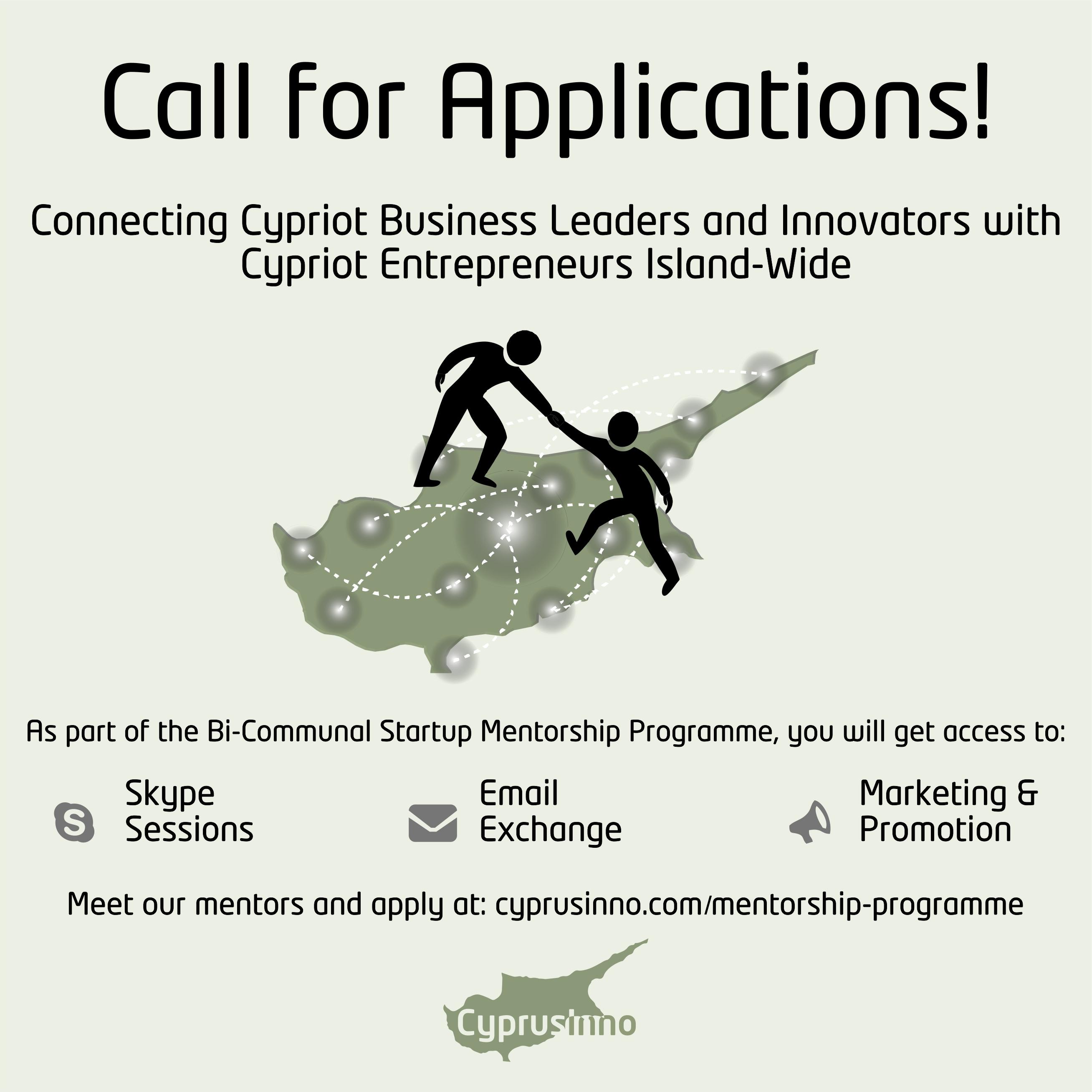 Bi-Communal Startup Mentorship Programme - CyprusInno cyprus
