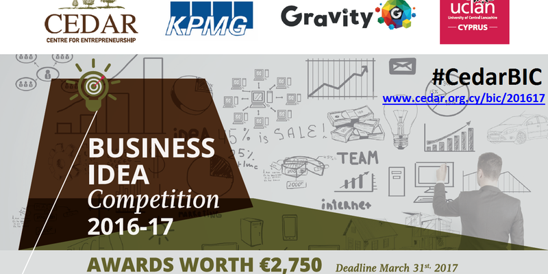 3rd Business Idea Competition 2016-17 Workshop cyprus cyprusinno