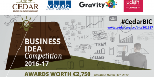 4th Business Idea Competition 2016-17 Workshop cyprusinno cyprus