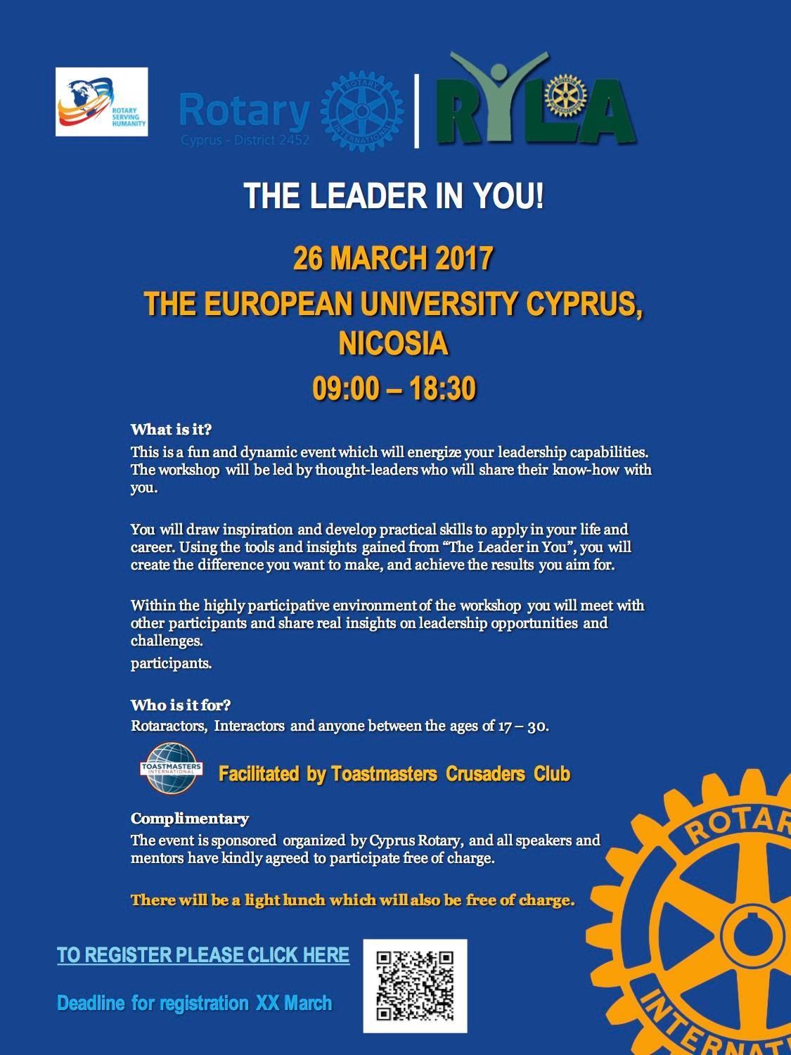 the leader in you cyprus cyprusinno event events