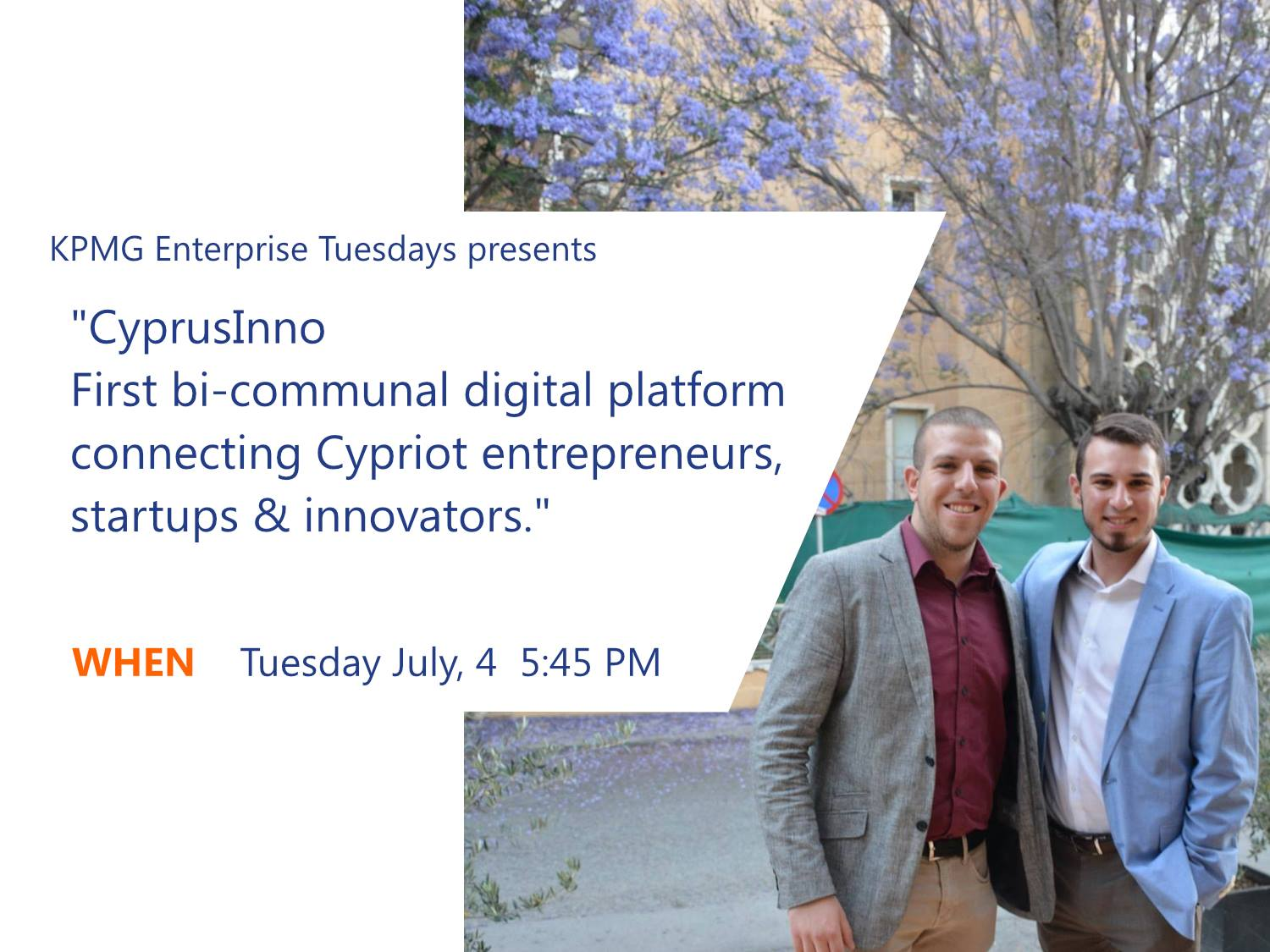 KPMG Enterprise Tuesdays Presents Learn Fundamental Leadership Tips for Achieving Peak Performance cyprus cyprusinno 1