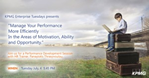 KPMG Enterprise Tuesdays Presents Learn Fundamental Leadership Tips for Achieving Peak Performance cyprus cyprusinno