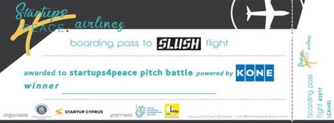 "Startups4Peace ""KONE Elevators Pitch Battle"""