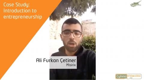 Ali Furkan Cetiner: Founder of MISIRiX