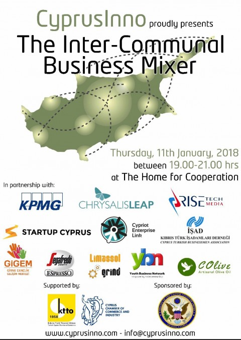 CYPRUSINNO TO HOST THIRD INTER-COMMUNAL BUSINESS MIXER IN THE BUFFER ZONE