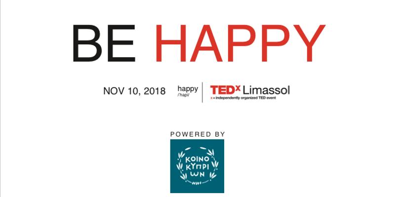 TEDxLimassol - HAPPY - CyprusInno cyprus