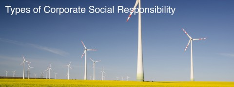 Types of Corporate Social Responsibility