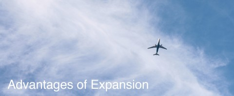 The Advantages of Expansion