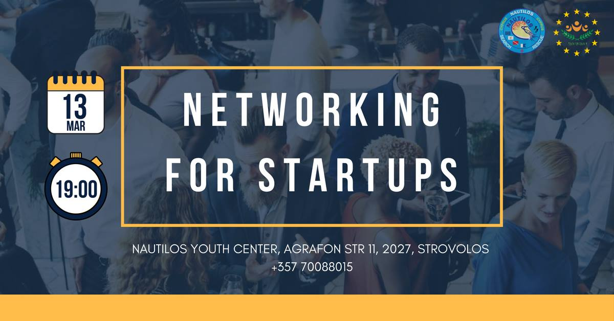 networking for startups nautilos SAR cyprus cyprusinno event events