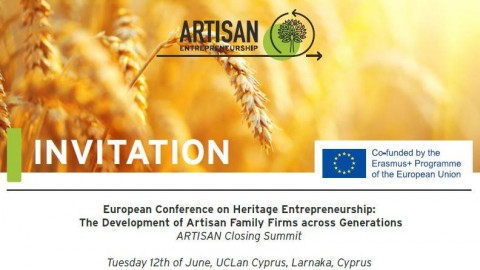 European Conference on Heritage Entrepreneurship
