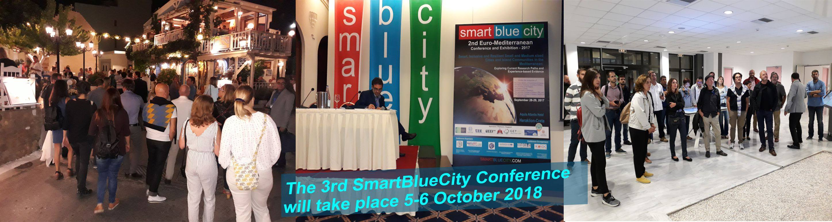 3rd SmartBlueCity Conference & Exhibition 2018 cyprus cyprusinno event events