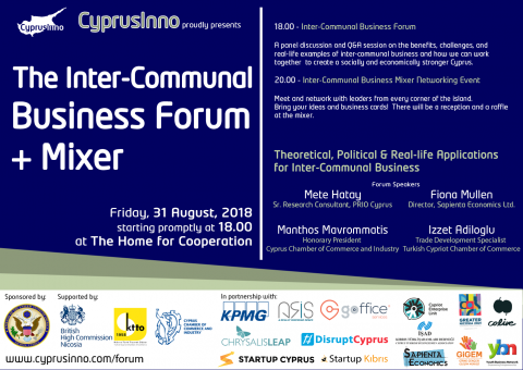 CYPRUSINNO ANNOUNCES GATHERING OF BUSINESS EXPERTS AND ENTREPRENEURS IN BUFFER ZONE