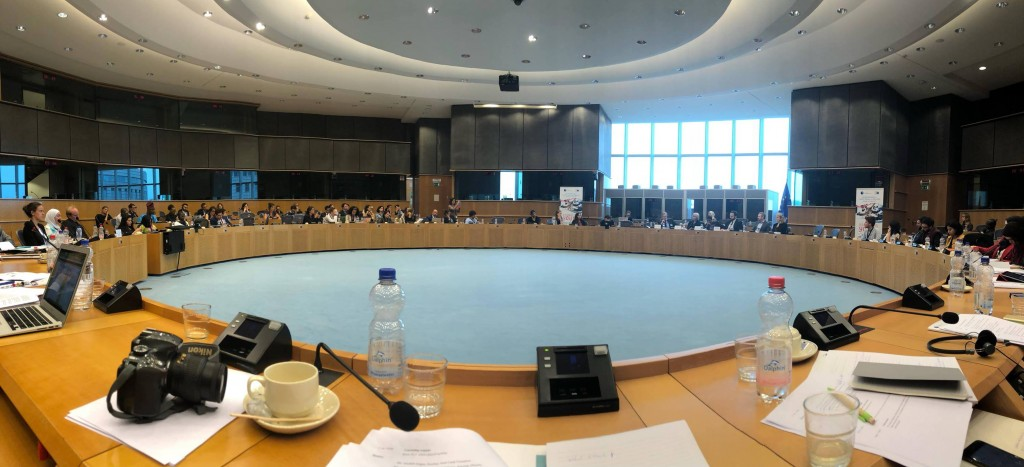 CyprusInno Participates in First EU Conference on Youth, Peace and Security