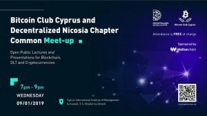 Bitcoin Club Cyprus and Decentralized Nicosia Chapter First Comm cyprusinno