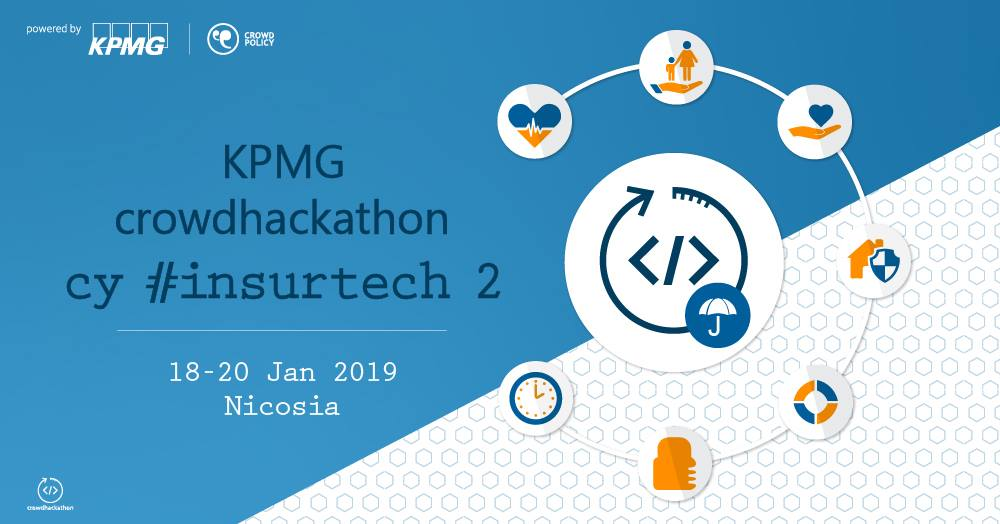 KPMG crowdhackathon cy #insurtech 2 cyprusinno cyprus