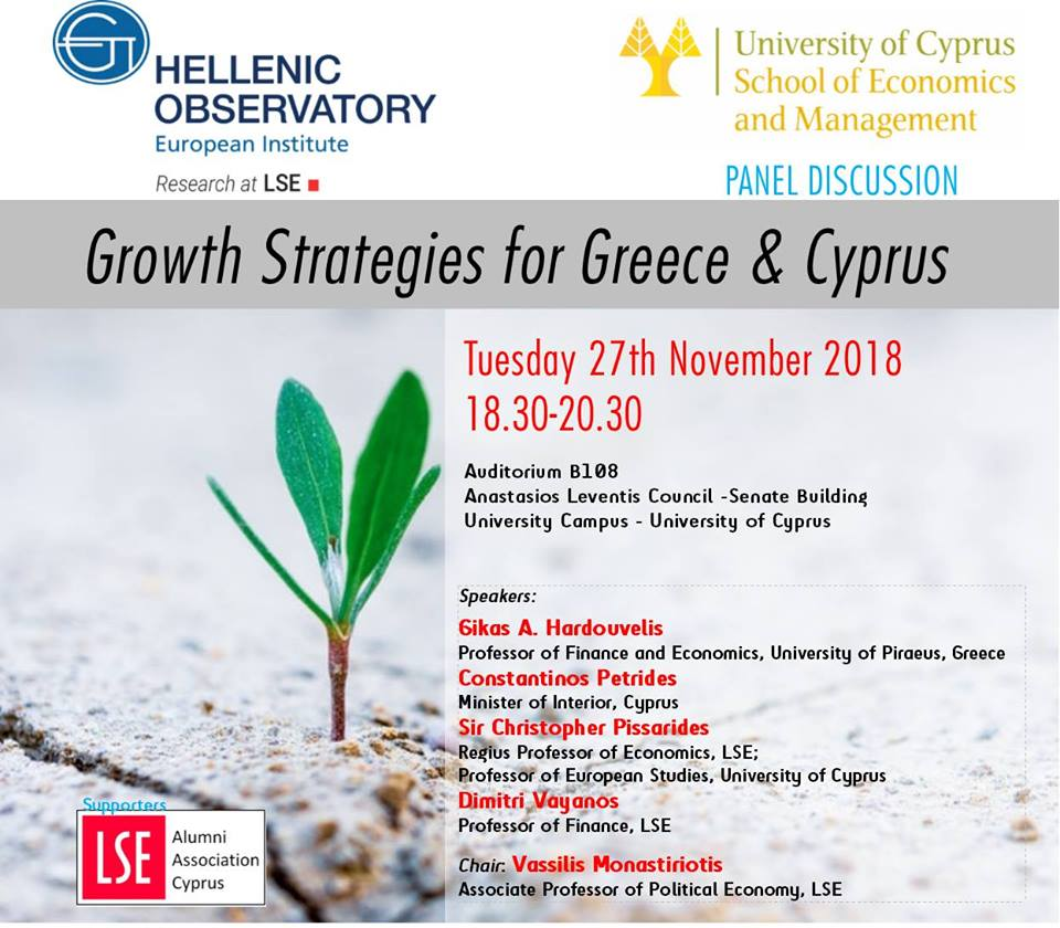Panel Discusion- Growth Strategies for Greece & Cyprus cyprusinno