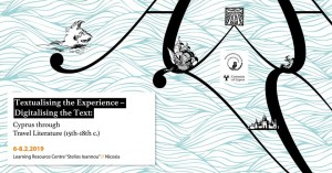 Textualising the Experience – Digitalising the Text- Cyprus through Travel Literature cyprusinno