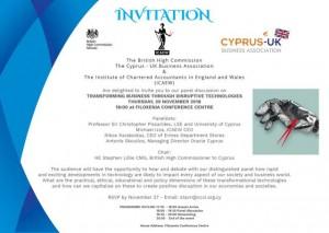 Transforming Business Through Disruptive Technologies cyprus cyprusinno