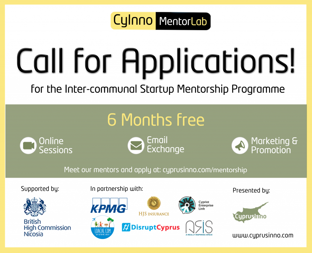 CyprusInno Launches its Inter-Communal Startup Mentorship Programme