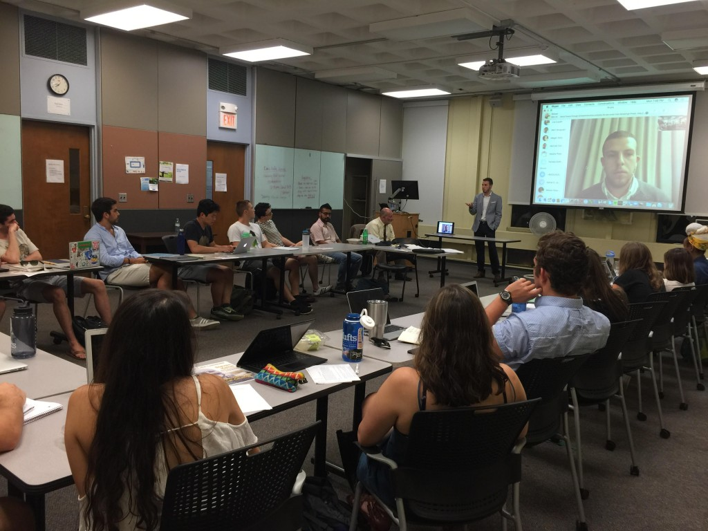 CyprusInno Guest Lecture at Tufts University