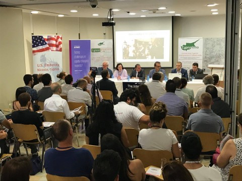 A Gathering of 150+ Cyprus Entrepreneurs & Innovators: The Inter-Communal Business Forum + Mixer August 2018