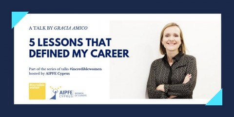 5 Lessons That Defined My Career: #IncredibleWomen Event Series by AIPFE