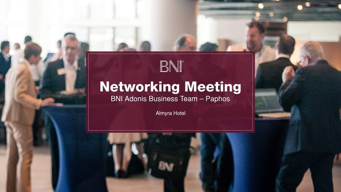 BNI Networking Meeting Paphos cyprus cyprusinno event events