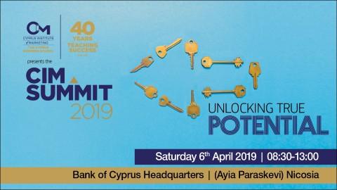CIM Summit 2019 – Unlocking True Potential