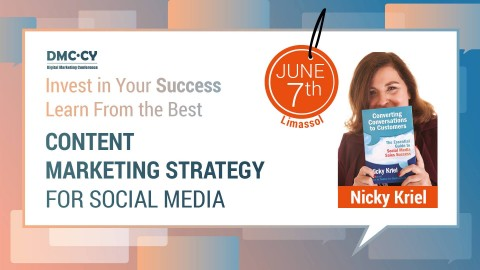 Content marketing strategy for Social media by Nicky Kriel