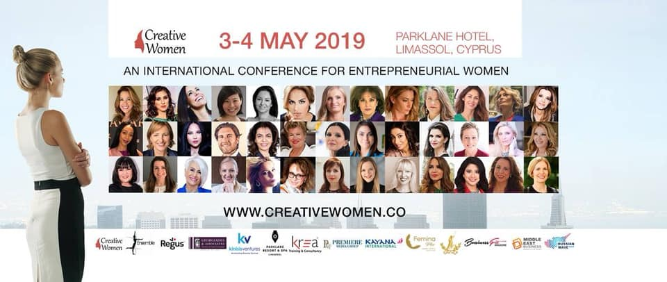 Creative Women Conference 2019 cyprus cyprusinno event events
