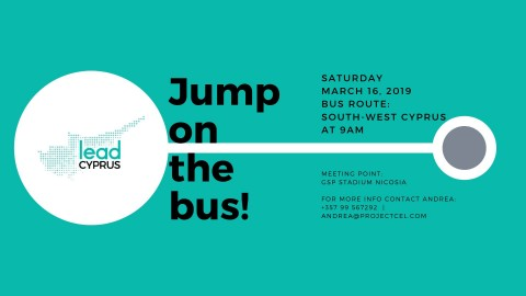 Jump on the Bus! South-West Cyprus Edition (Powered by LEAD Cyprus)