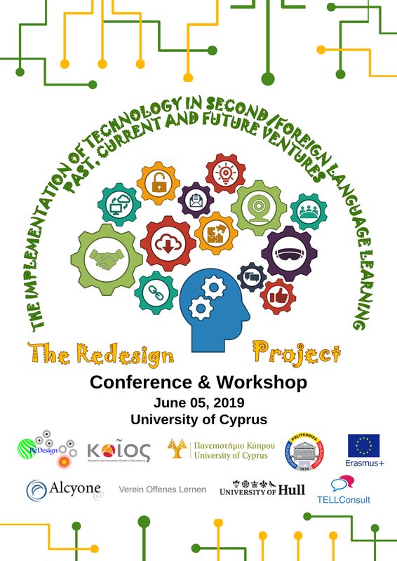 """ReDesign Project. Conference & Workshop """"The Implementation of Technology in Second:Foreign Language Learning- Past, Current and Future Ventures"""". cyprus cyprusinno event events"""