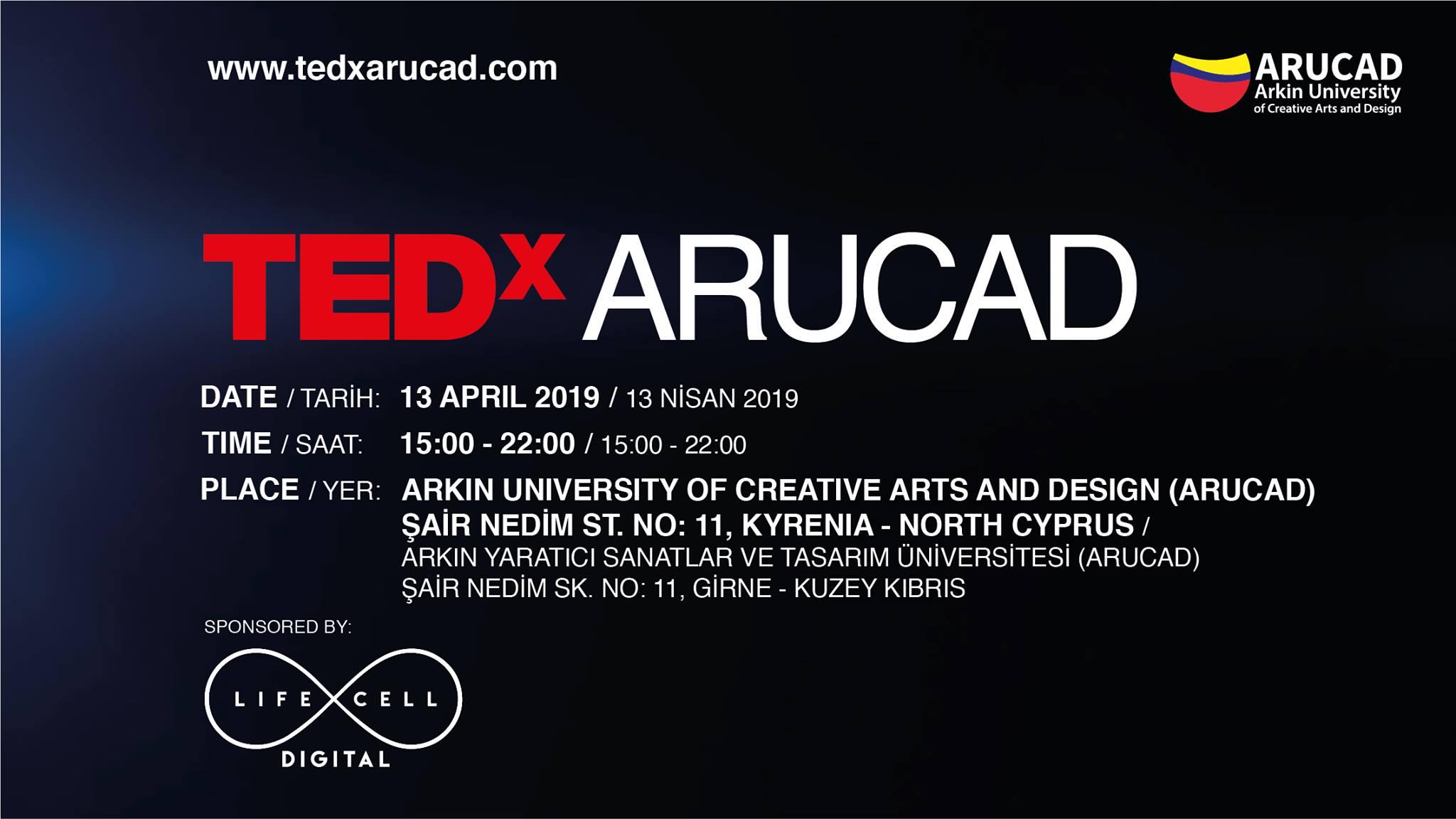 TEDxARUCAD cyprus cyprusinno event events