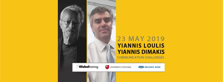 Yiannis Loulis & Yiannis Dimakis Communication Challenges cyprus cyprusinno event events