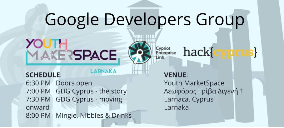 Bring Google Developers Group to Cyprus! cyprusinno event events