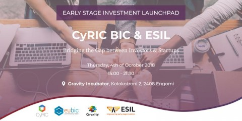 CyRIC BIC & ESIL – Bridging the Gap between Investors & Startups