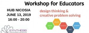 Design Thinking for Education cyprus cyprusinno event events