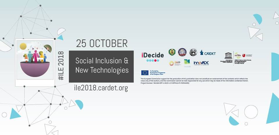 ILE 2018 Conference hosts the iDecide Final Conference cyprus cyprusinno event events