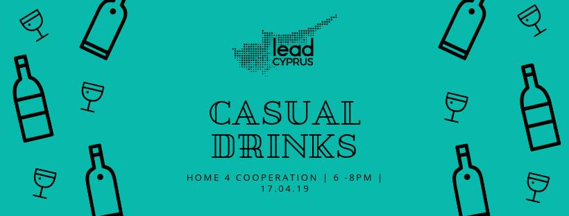 Lead Cyprus Casual drinks sessions cyprusinno event events