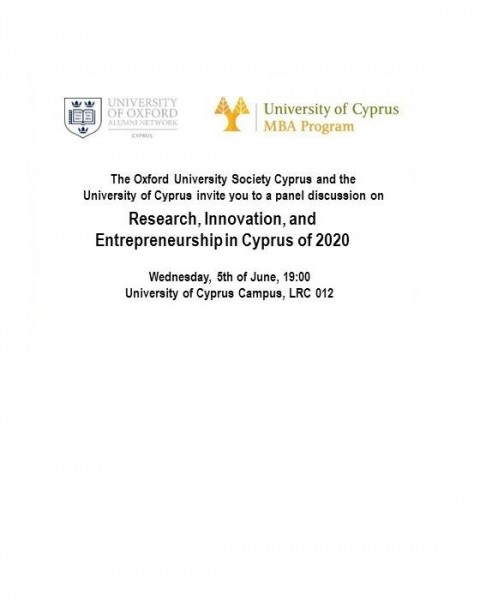 Research, Innovation, and Entrepreneurship in Cyprus of 2020