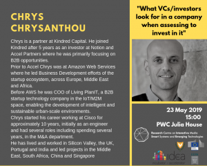 What VCs:investors look for in a company when assessing to invest in it cyprus cyprusinno event events